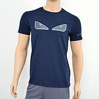 Мужская футболка Fendi  синий