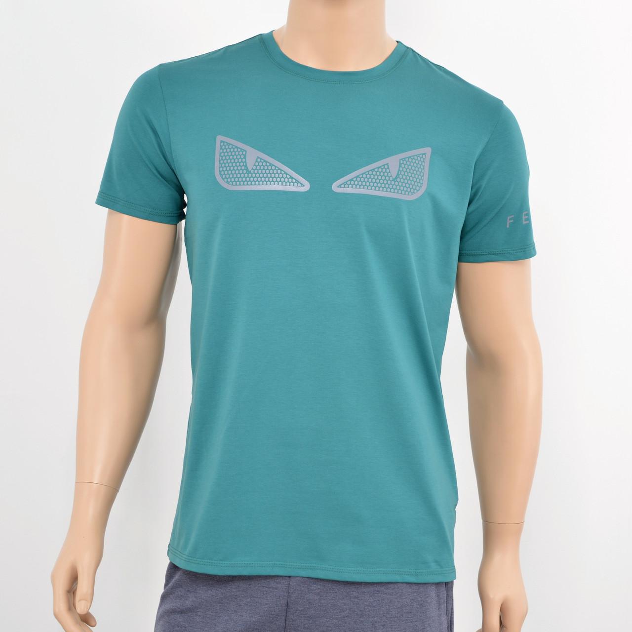 Чоловіча футболка Fendi зелений