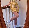 Стильная твидовая юбка в клетку, фото 5