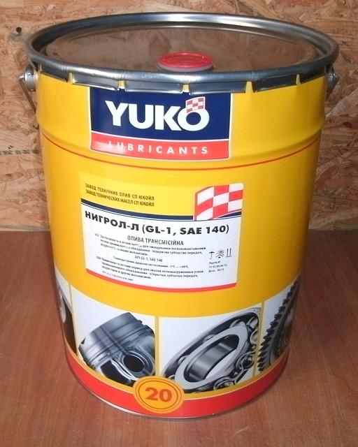 Нигрол-Л YUKOIL(17,5 кг)