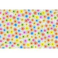 """Фетр с рисунком цветочный принт """"Ромашка"""" ЦП023, фото 1"""