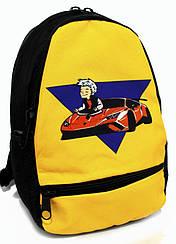 Зручний і якісний дошкільний рюкзак на одне відділення з щільною спинкою яскраві кольори Розміри: 33х24х13