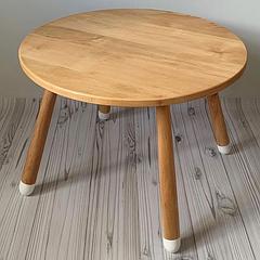 Детский деревянный круглый столик