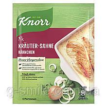Курица Knorr Fix с травяным кремом