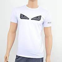 Мужская футболка Fendi белый