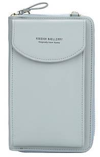 Гаманець-клатч Baellerry Forever N8591, сірий