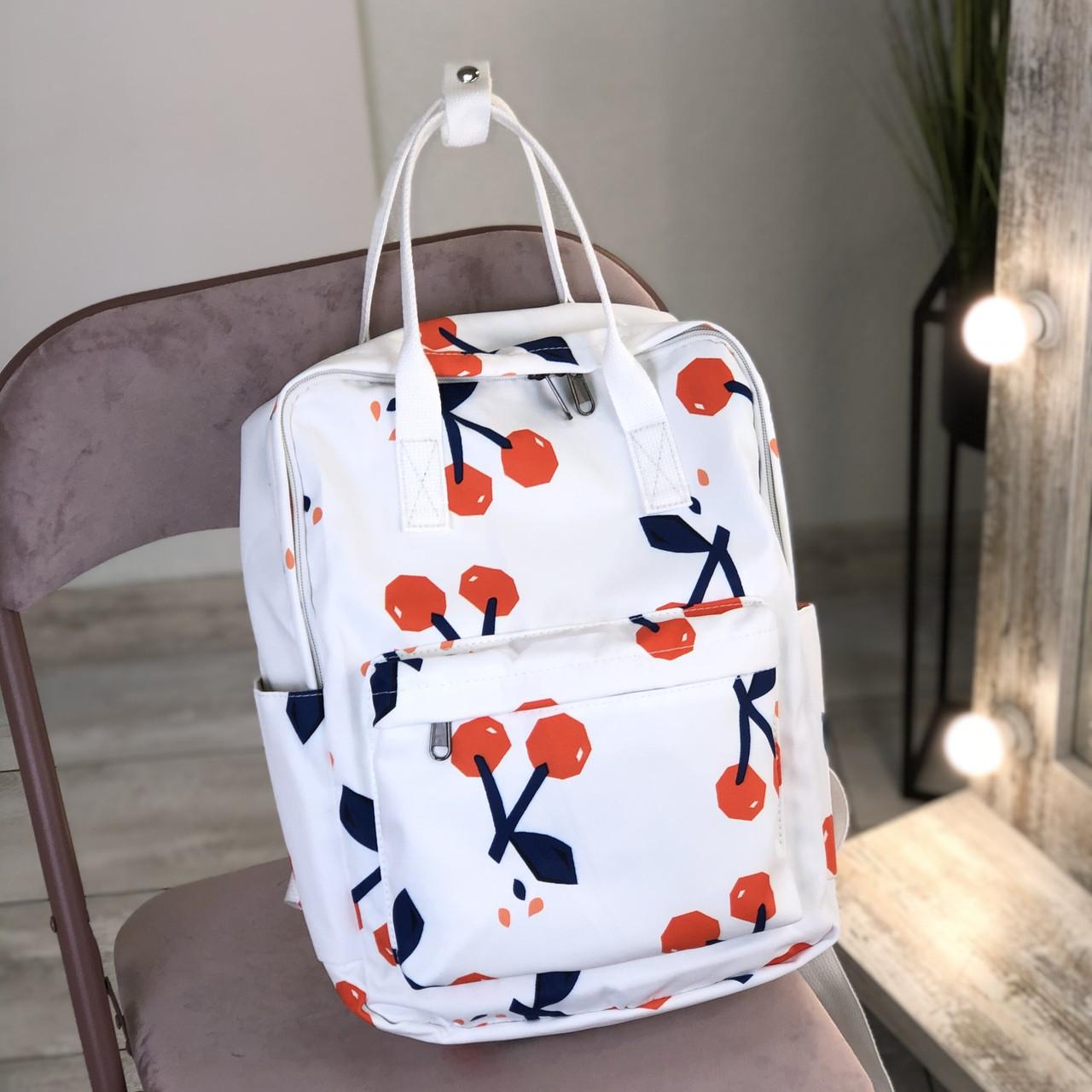 Сумка-рюкзак с модными принтами