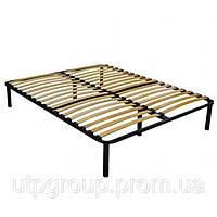 Ортопедический каркас кровати с ламелями 180*190см, L-2,5 см, 44 ламели
