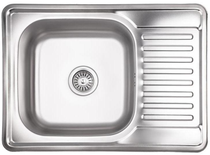 Кухонные мойки Lidz Кухонная мойка из нержавеющей стали Lidz 6950 0.8 мм Decor (LIDZ6950DEC08)