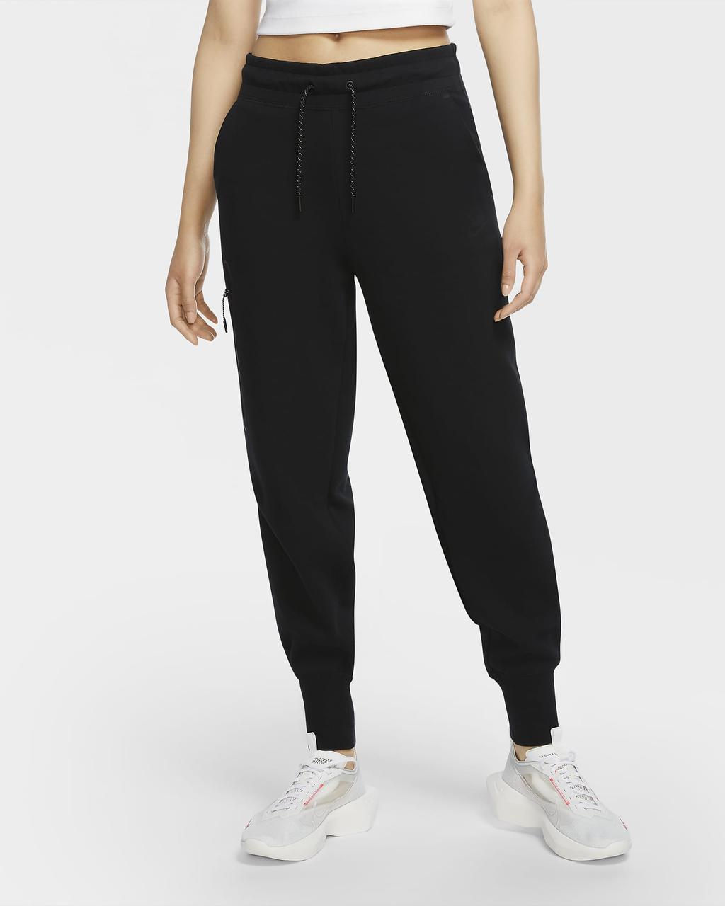 Штани жіночі спортивні Nike Sportswear Tech Fleece CW4292-010 Чорний
