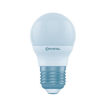 Лампа світлодіодна шар G45 4W PA Е27 4000KCRYSTAL_GOLD, фото 2