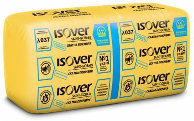 Теплоізоляція ISOVER Скатна покрівля  50мм (14,28 м.кв.) Плита