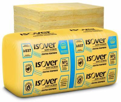 Теплоізоляція ISOVER Скатна покрівля  50мм (14,28 м.кв.) Плита, фото 2