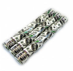 Пневмохлопушка Доллар,  40 см