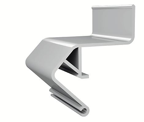 Профіль алюмінієвий для натяжних стель ПФ2429 «Ширяючий»