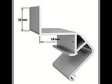 Профіль алюмінієвий для натяжних стель ПФ2429 «Ширяючий», фото 2