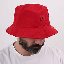 Панама чоловіча Jordan Jumpman Washed Bucket Cap DC3687-687 Червоний