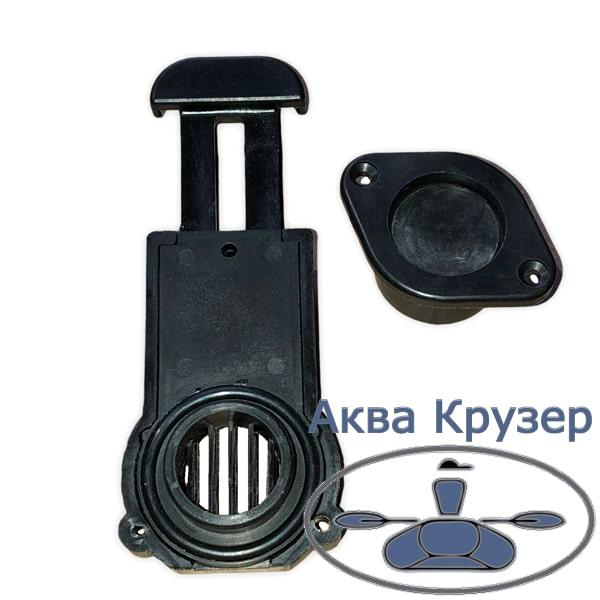 Зливний Клапан транцевый BRAVO товщина транця 17-23 мм для надувних човнів ПВХ