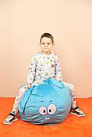 """Детское кресло-мешок, пуфик """"Смешарики"""" Крош, 60 см."""