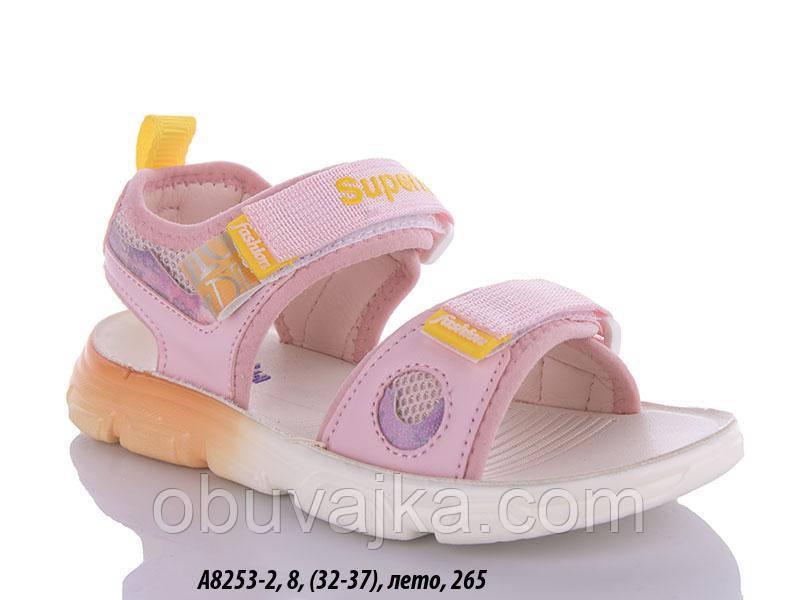 Літнє взуття оптом Босоніжки для дівчинки від виробника GFB (рр 32-37)