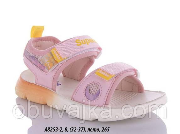 Літнє взуття оптом Босоніжки для дівчинки від виробника GFB (рр 32-37), фото 2