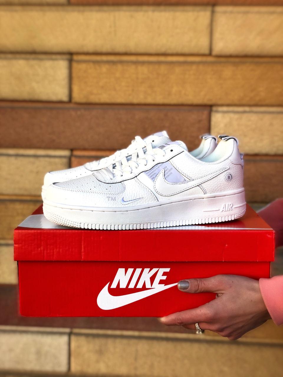 Кроссовки женская Nike Air Force 1'07Lv8 Ultra White