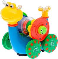 Интерактивная Игрушка Snail Baby очень веселая и яркая Улитка 5501 развивающая игрушка для малышей