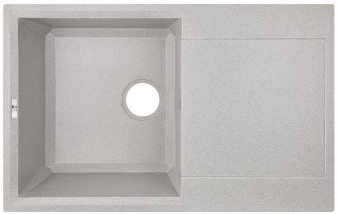 Кухонні мийки Lidz Кухонна мийка Lidz 790x495/230 GRA-09 LIDZGRA09790495230 сіра
