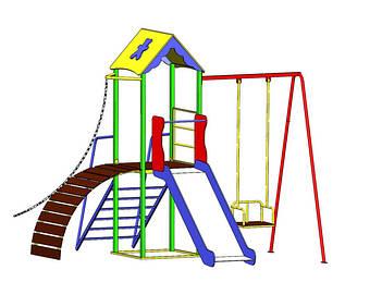 Дитячі ігрові комплекси для вулиці