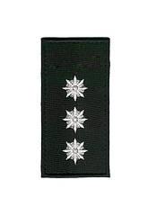 Погон Старший лейтенант поліції на липучці (1шт) 10352