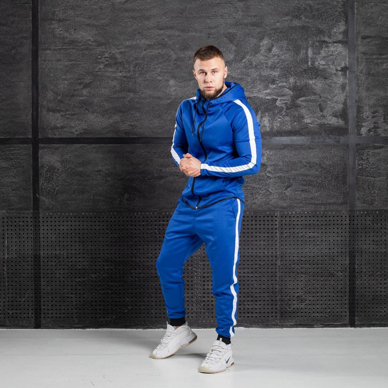 Спортивный костюм унисекс Asos Tech-diving синий