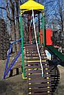 """Дитячий комплекс з гіркою """"Башточка"""" для вулиці, фото 5"""