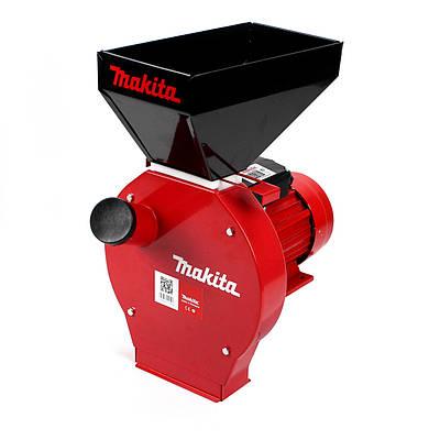 Зернодробилка Makita EFS 4200 (4.2 кВт, 280 кг/ч). Кормоизмельчитель Макита для зерна и початков кукурузы
