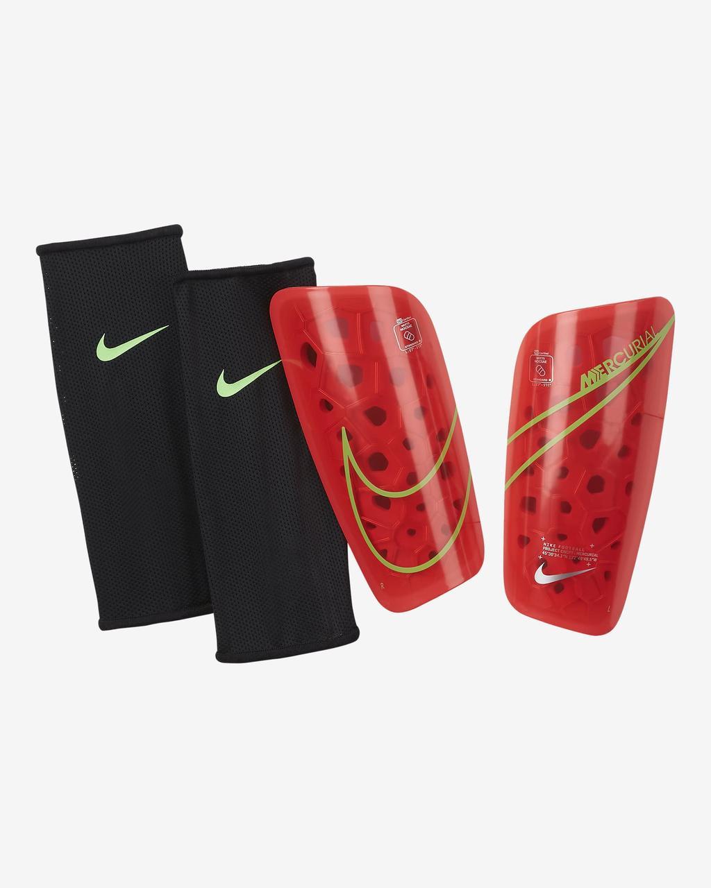 Щитки футбольные Nike Mercurial Lite SP2120-635 Красний