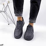Жіночі кросівки, кеди з написами білі рожеві темно сірі, фото 9
