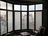 Окно из умного стекла. Smart glass windows. Окно с переменной прозрачностью.