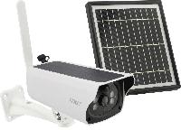 Уличная аккумуляторная IP камера видеонаблюдения UKC Y4P-4G 2 mp с солнечной панелью+ ПОДАРОК кабель для тел.