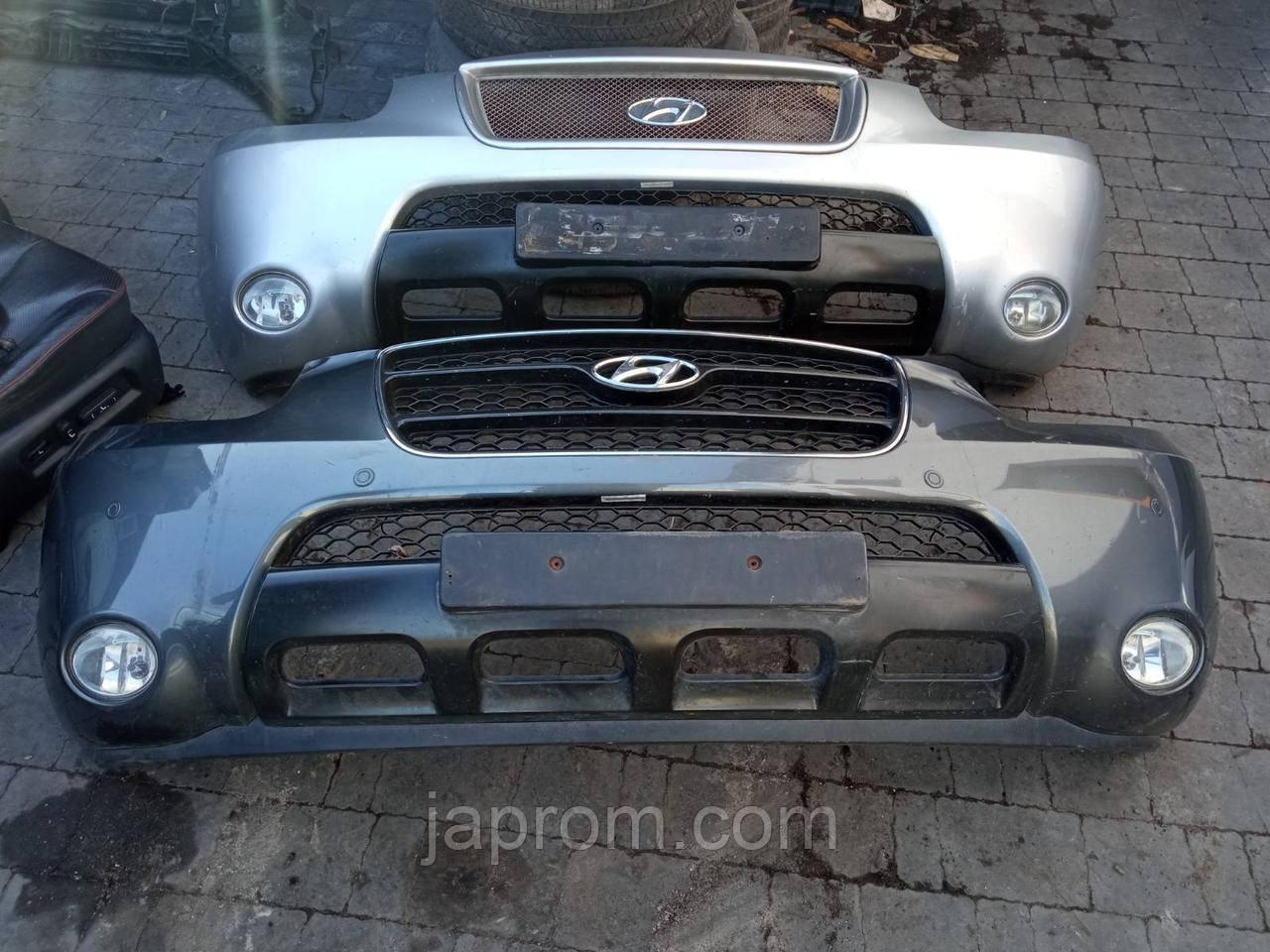 Бампер передний Hyundai Santa Fe II 2006-2010г.в.X2  под покраску