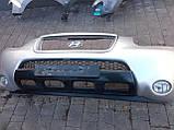 Бампер передний Hyundai Santa Fe II 2006-2010г.в.X2  под покраску , фото 5