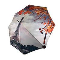 Женский зонтик-трость, полуавтомат от SWIFT с Эйфелевой башней, 1112-1