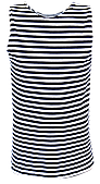 Майка-тельняшка батальная темно синяя
