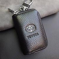 Ключница с логотипом авто Toyota, брелок Тойота, фото 1