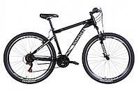 """Велосипед горный мужской 29"""" Discovery Trek AM VBR 2021 рама 19"""" черно белый"""