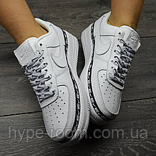Женские Nike Air Force 1 Low White Ribbon Pack