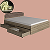 Кровать Астория Эверест (без матраса) (матрас 1600х2000) (1652х2032х790), фото 2