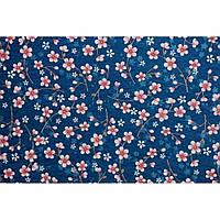 """Фетр с рисунком цветочный принт """"Цветы вишни"""" ЦП019, фото 1"""