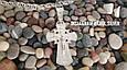 Срібний православний хрестик з розп'яттям. Вага 9,65 гр. 925 проба, фото 3