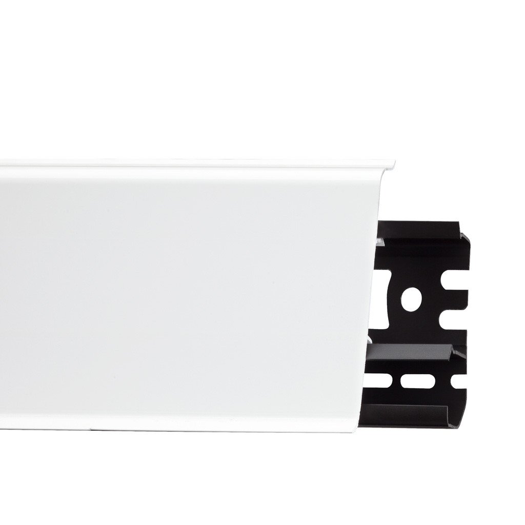Плінтус Arbiton Indo 01 Білий глянець (2,5 m)