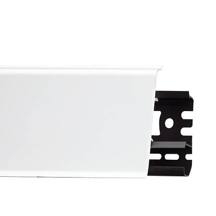 Плінтус Arbiton Indo 01 Білий глянець (2,5 m), фото 2