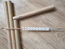 Термометр спиртовой стеклянный - 150 С  ,  носик 103мм